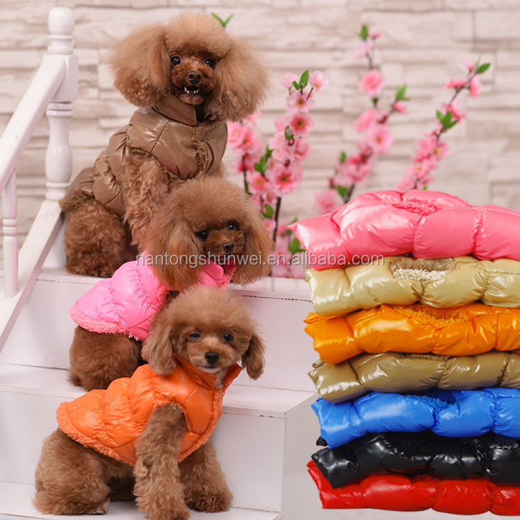 Pet clothes dog clothes pet coats ,polyester winter jumpsuit dog clothes for dog for sale
