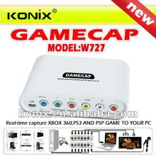 Video capture Game capture HD 720P Support for XBOX 360 PS3