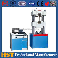 WAW-100D Pipe Hydraulic Pressure Test Equipment/Computerized Hydraulic Universal Testing Machine