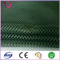 100% polyester heavy diamond mesh fabric for fishing net