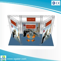 2016 SG Hot Selling spigot truss/aluminum truss trade show booth