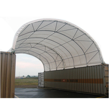 weld fixing pvc fabric industrial container shelter