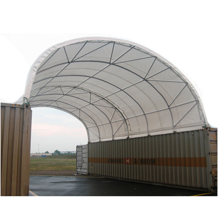weld fixing pvc industrial container shelter