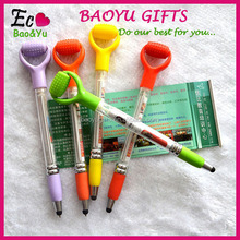 Personality Design Handmade Pull Out Banner Pen Advertising Banner Stylus Pen Import From China