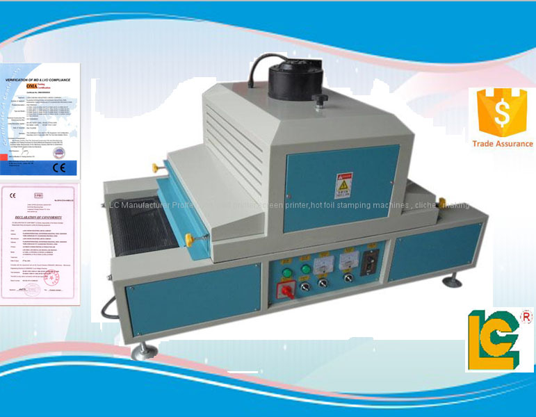 2016 hot sale small desktop uv curing machine drying tunnel for industry TM-200UVF