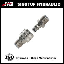 NPT / G1/2 hydraulic quick disconnect hose couplings