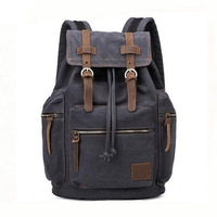 2018 wholesale durable military canvas backpacks for men traveling