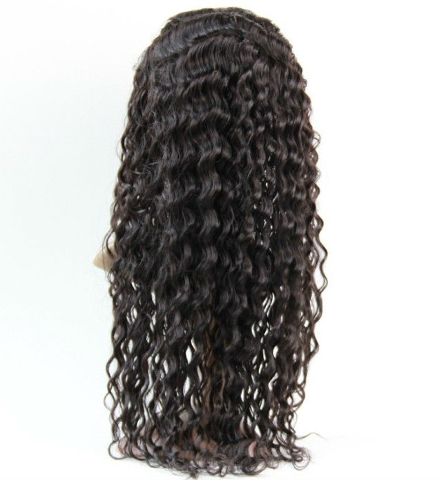 virgin brazilian curly hair full lace wig