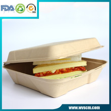 9inch biodegradable microwavable food container