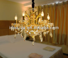 Indoor Ceiling Grid Light Hanging Chandelier Hotel Lighting Fixtures