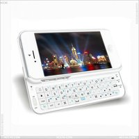 Alibaba in Russian With Backlight Wireless Bluetooth Keyboard for iPhone 5 Case P-IPH5BLUEKB001