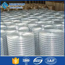 Hot dipped galvanized welded retaining wall wire mesh/screen