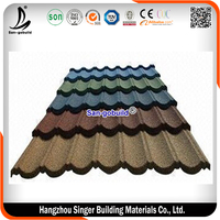 kerala aluminm zinc 120g per square stone coated roofing sheet ceramic roof tiles price