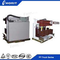 Lighting arrester trolley for GZS1 middle placed high voltage switchgear handcart frame trolley