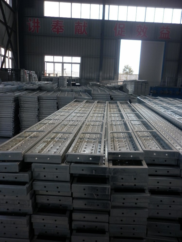 perforated scaffolding metal deck