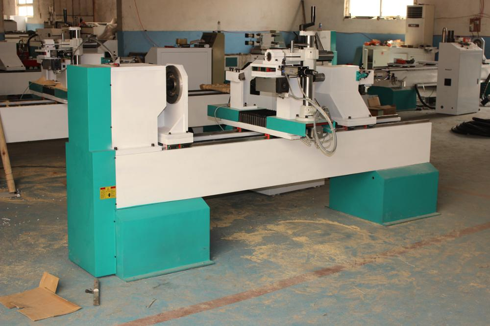China automatic Tianjiao DSP wood cnc lathe for baseball bat