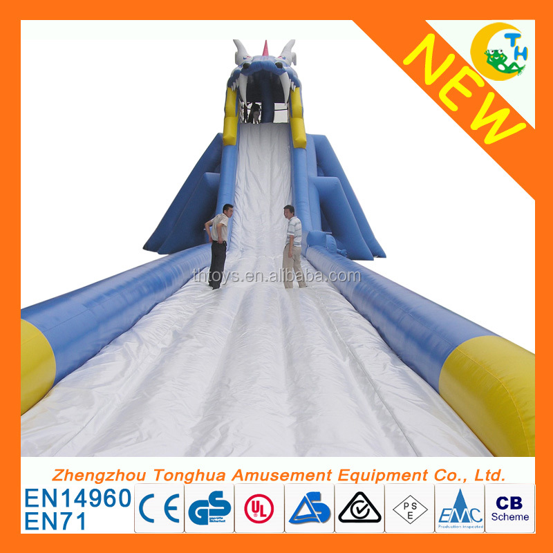 Hot Sale giant inflatable water slide for adult/inflatable slide/1000 ft slip n slide inflatable sllide the city