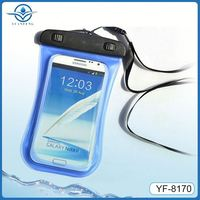 top sale 2014 clear pvc waterproof cellphone bag for samsung galaxy s3