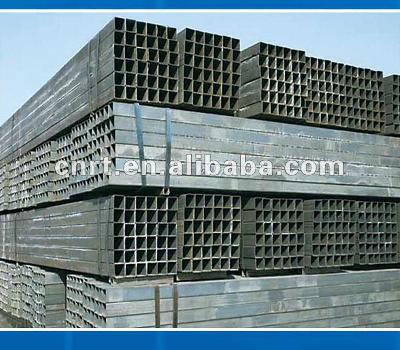 hot dipped galvanized square pipes