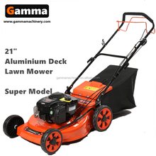 ride on lawn mower with big wheel in Honda engine smart