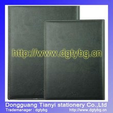 PVC Leather face notebook books note pad