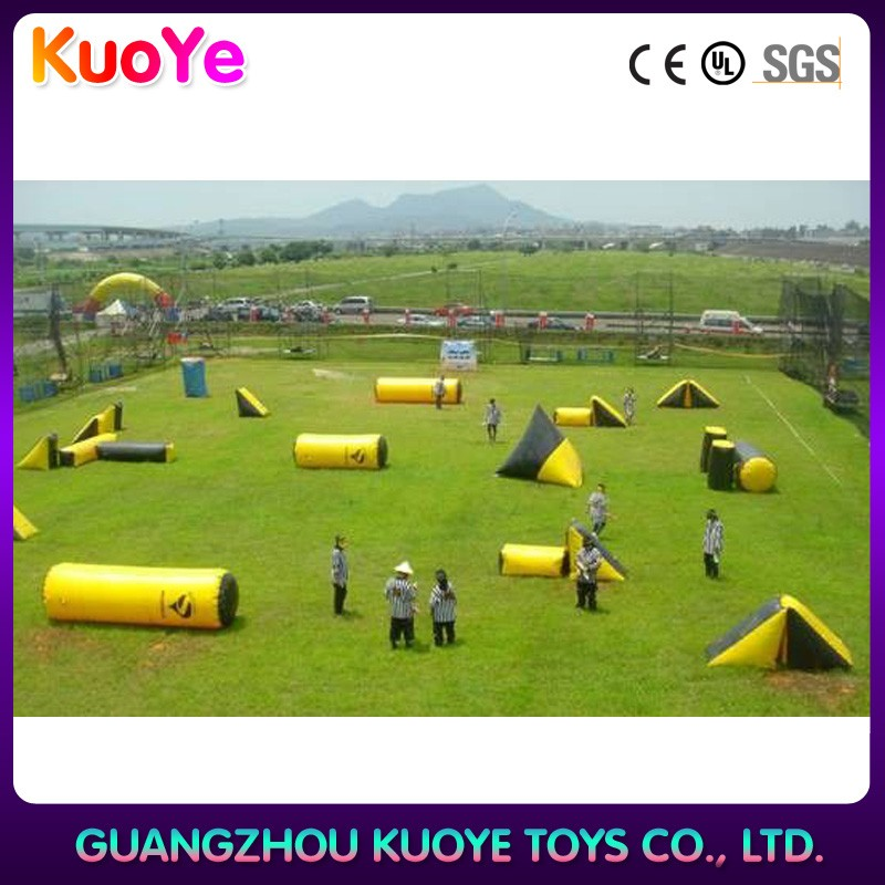 Hot sale inflatable paintball bunkers,air ball bunker,inflatable field paintball bunker