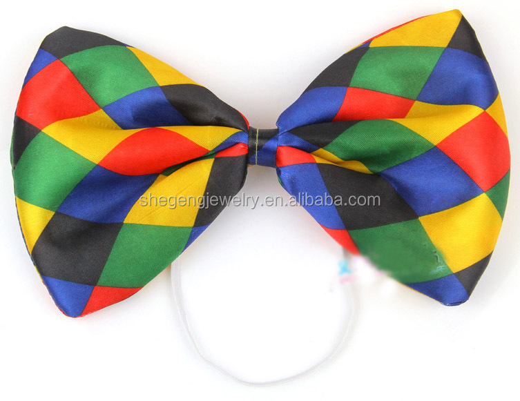 Jumbo Clown Bow Tie