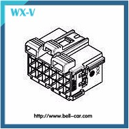 1-967625-1 TE/Tyco Equivalent 21 Pin Way Automotive Electrical Cable and Wire Connector Plug