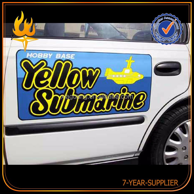 New Style Factory Directly Provide Safety Sign Car Sticker