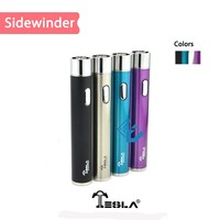 ELV Crazy selling ego 2200mah battery Tesla sidewinder 2 colorful ego 2200mah battery