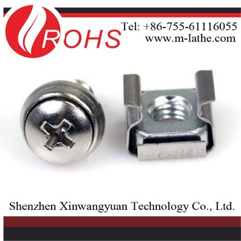 Best Price Stainless steel carbon steel cage nut non-standard fastener Own Factory