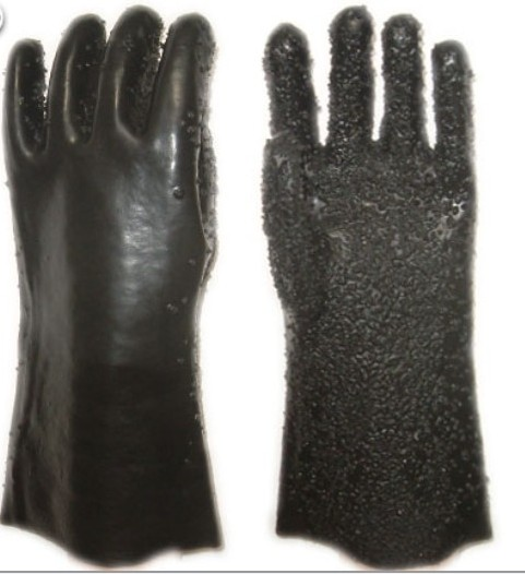 Fishing gloves,PVC coated safety gloves