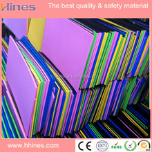 2016 newest easily cleaning floor eva foam sheet material with the cheapest price