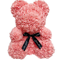 wholesale custom love gift valentines day roses bear