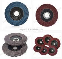 Hot sale in China high safety flap disc with emery cloth pieces