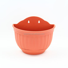 wall flower pot and wall hanging plastic flower pots