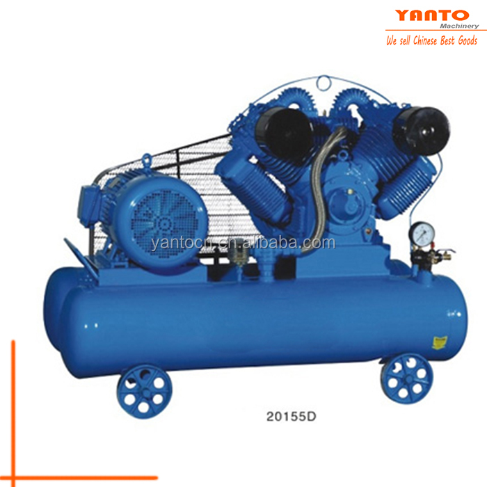 High Quality 300L Stationary Belt-Driven Air Compressor Electric Portable Screw Air Compressor Hot Selling