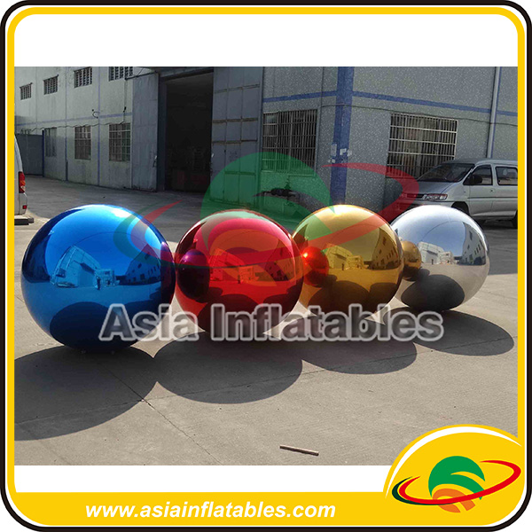 2m Hanging Inflatable Reflect Balloon / Disco Mirror Balloon