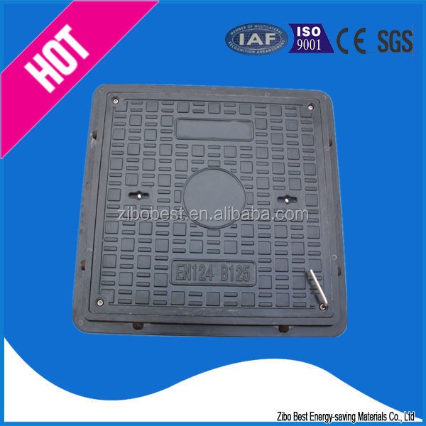 square composite manhole cover double seal for middle east