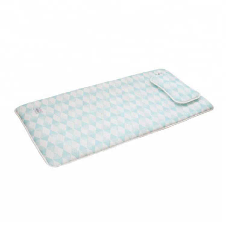 spandex fabric lycra folding portable baby mattress baby pillow - Jozy Mattress | Jozy.net