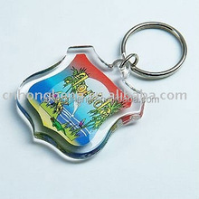 acrylic mobile phone key chain