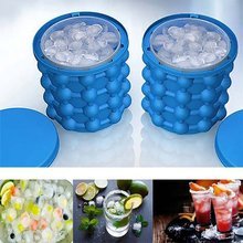 New Ice Cube Maker Genie The Revolutionary Space Saving Ice Cube Maker Ice Genie Kitchen Tools