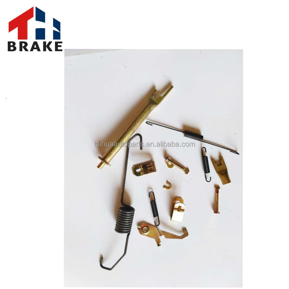Back brake system extension spring accessory brake caliper repair kit