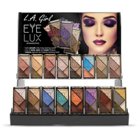 GIRL Eyelux Eyeshadow case Acrylic Display Set