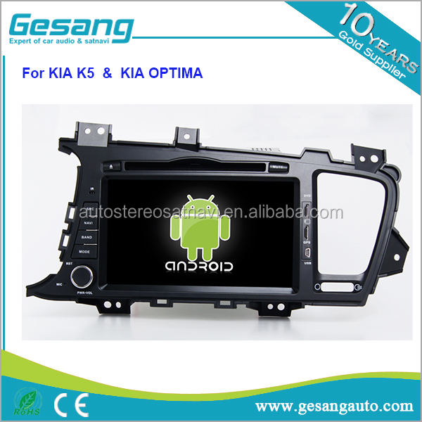 android 6.0 HD capacitance touch screen 2 din car dvd player for KIA K5 / KIA OPTIMA