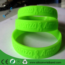 New colorful Color Luminous Silicone Bracelet Rubber Bands Women Girls Elastic Hair Band Wristband