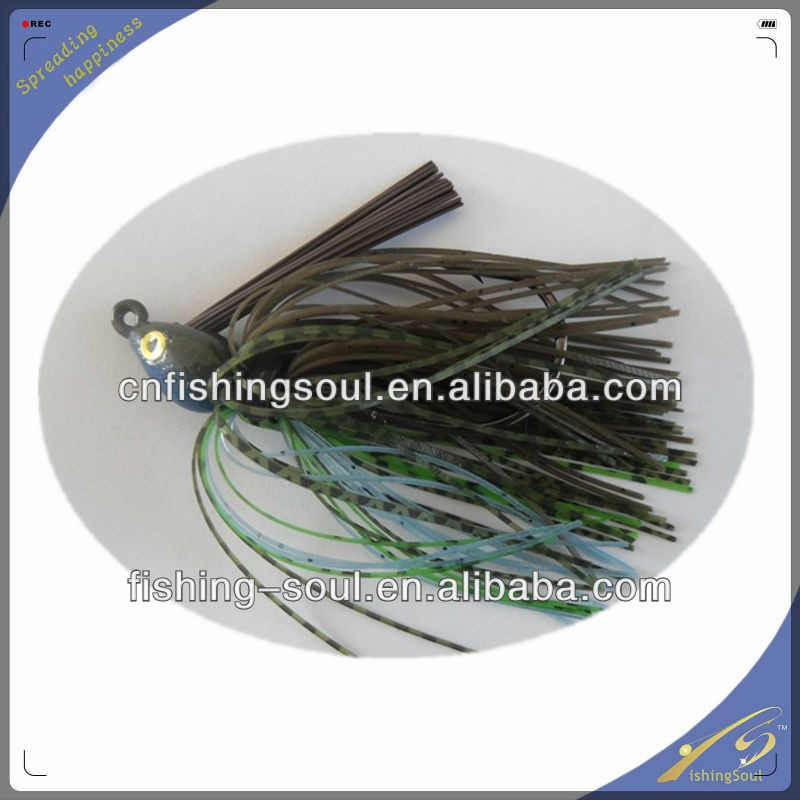 RJL005 rubber plastic madai jig baits vertical jigs skirts fishing lure