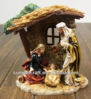 hand carved christmas nativity sets