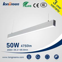 new products 2016 innovative product 50W led linear light fixture for office use