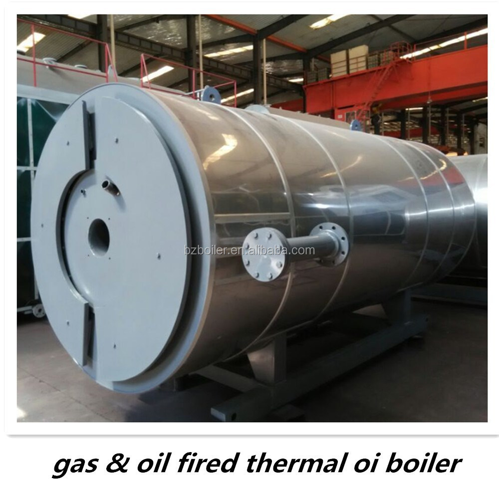 gas/oil fired Thermal Oil heater for waste oil re-cycling